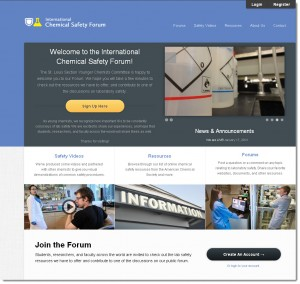 Visit the International Chemical Safety Forum site at www.ycclabsafetystl.org