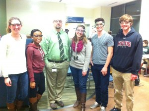 2015 Battle of Burets participants and teachers representing MICDS. L to R: Madison Wrobley, Chloe Stallion, Justin Little, Elizabeth Bergman, James Meade, and Ben Hahn.