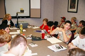 2004 Chemistry Merit badge clinic in St Louis