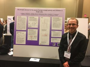 Jay Sibbitts presenting at the 2016 ACS Midwest Regional Meeting in Lawrence, Kansas